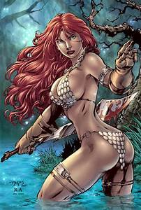 Red Sonja - Most Attractive Comic Book Heroine