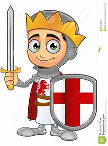 St. George Boy King Character Stock Vector - Illustration ...