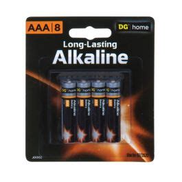 dg home aaa alkaline batteries  pack