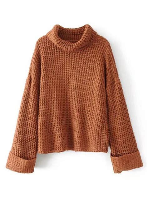 waffle knit sweater turtleneck waffle knit sweater emmacloth fast