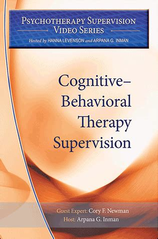 cognitivebehavioral therapy supervision