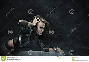 Rock-star Woman Royalty Free Stock Photo - Image: 13528035