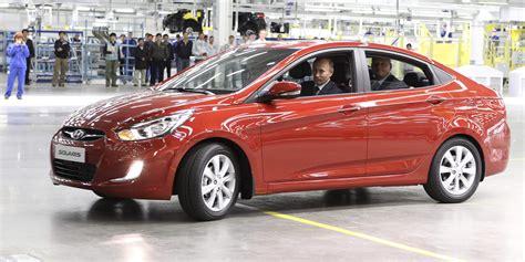 Hyundai Solaris Volution Russe Autonewsfr