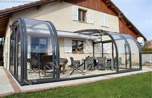 Abri De Terrasse : abri de terrasse l mod le cintr saphir l v roka ~ Premium-room.com Idées de Décoration