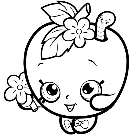 Shopkins Season 4 Coloring Pages Free download on ClipArtMag