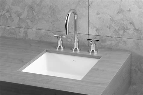 16 undermount bathroom sink deca 16 quot square undermount sink bath design pinterest