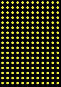 Wallpaper dots azure spots polka yellow #d4aa04 #29b8f8 ...