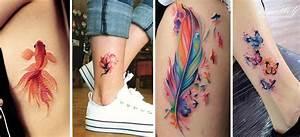 """15 tatuajes de """"acuarela"""" que querrás tener cuanto antes Mujer de 10"""