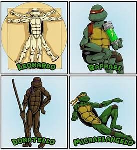 Teenage Mutant Ninja Turtles Meet Their Artistic