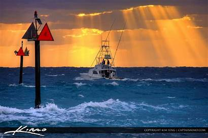 Fishing Deep Sea Pompano Boating Florida Offshore