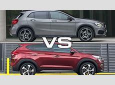2015 Mercedes GLA vs 2016 Hyundai Tucson YouTube