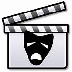 Drama Rehearsal Clipart Icon Film Svg Play