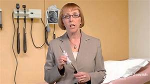 Nurse Deb Gives Instructions On How To Use An  Autohaler