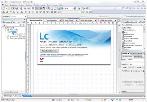 Adobe Livecycle Designer Templates by Livecycle Blog Livecycle Designer Es4