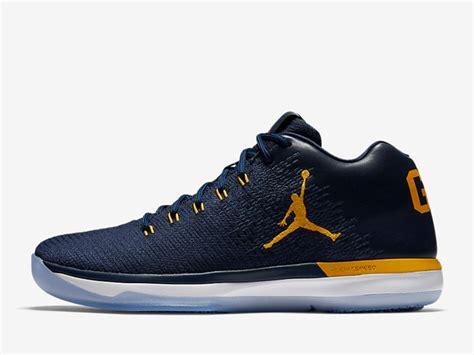 Air Jordan Xxx1 Low Michigan Release Date Sneaker Bar