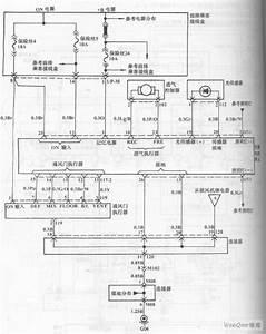 Hyundai Sonata Car Blower And Air Conditioning Control