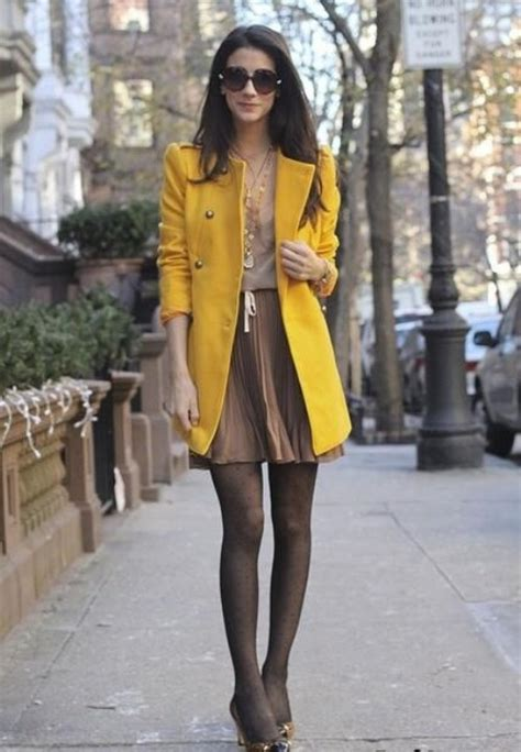 5 Tips on What to Wear with the Color Mustard for Fall u2013 Glam Radar
