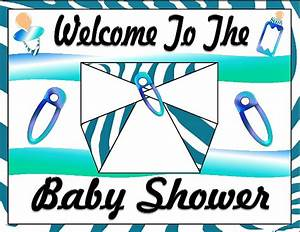 Printable Baby Boy Shower Decorations Printable Baby