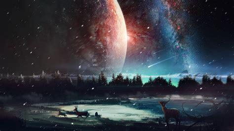 Digital Scenery Wallpaper by 2048x1152 Universe Scenery Hd 2048x1152 Resolution Hd 4k