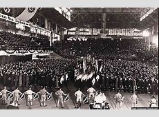 Nazi rally in Buenos Aires, 1938