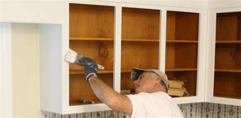 How to Paint Kitchen Cabinet Boxes   Today's Homeowner
