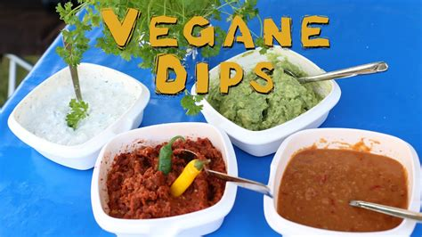 dips zum grillen rezept vegane dips perfekt zum grillen