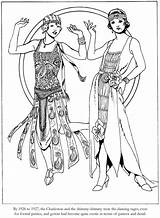 Coloring Pages Colouring 1920s Roaring Dover Adult Books Twenties Publications Doverpublications Sheets Fashions Welcome 20s Adults Coloriage Printable Historical Ladies sketch template