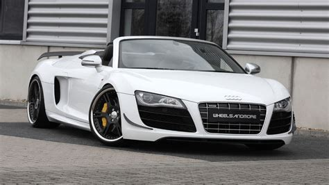 Audi R8 Backgrounds by Audi R8 Spyder Wallpapers 77 Background Pictures