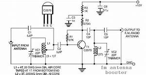 Fm Antenna Booster Circuit Diagram