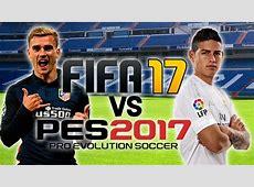 FIFA 17 vs PES 2017 E3 Trailer Gameplay YouTube