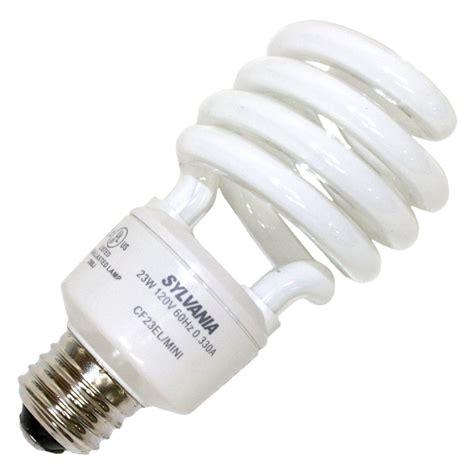 sylvania light bulb sylvania 26351 cf23el spiral 865 twist medium base