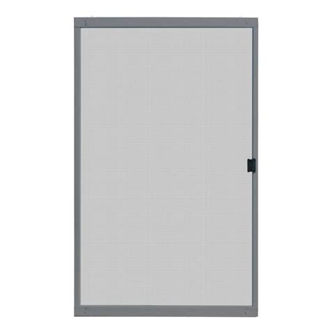 unique home designs 48 in x 80 in standard grey metal