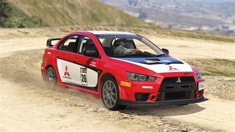 Mitsubishi Lancer Evo X Fq 400 Rally Livery Gta5 Modscom