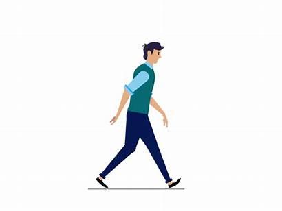 Walk Cycle Walking Human Animation Motion Animated