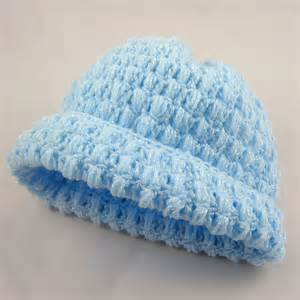 Puff Stitch Crochet Baby Hat Pattern Free