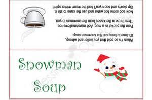 snowman template printable