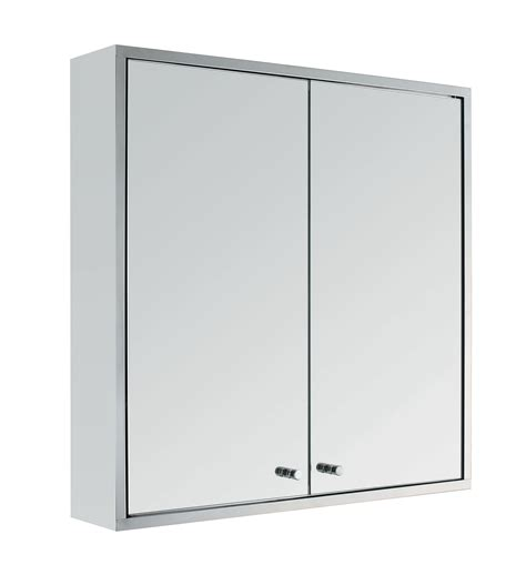 double mirror bathroom cabinet stainless steel double door wall mount bathroom cabinet