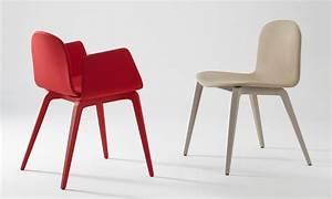 Chaise Scandinave Rouge : nouveau chaise et fauteuil design scandinave en tissu pieds bois bliss blaine r blog de ~ Preciouscoupons.com Idées de Décoration