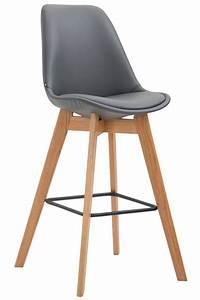 Tabouret De Bar Pied Bois : tabouret de bar metz similicuir chaise bois cuisine repose ~ Melissatoandfro.com Idées de Décoration