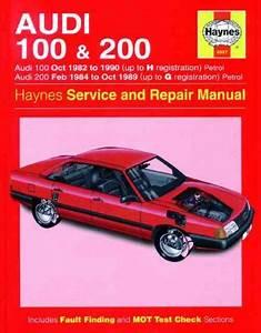 Audi 100 200 1982 1990 Haynes Service Repair Manual Uk