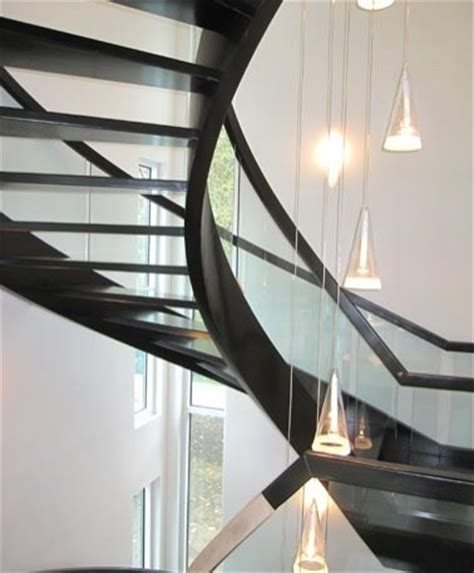 Curved Stairs   Modern   Staircase   Cleveland   by Great