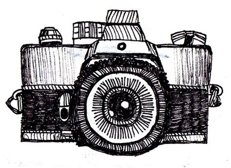 Vintage Camera Drawing Tumblr