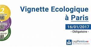 Vignette Voiture Paris : vignette cologique obligatoire au 16 01 2017 paris legipermis ~ Maxctalentgroup.com Avis de Voitures