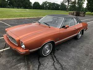 1974 Ford Mustang II Ghia with Sunroof Manual Transmission 2.3L 4 Cyl Runs Well for sale - Ford ...