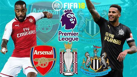 FIFA 18   Arsenal vs Newcastle United   Premier League ...