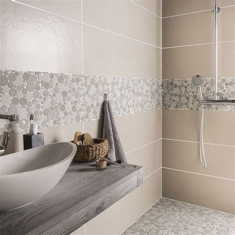 salle de bain marron collection et carrelage beige salle de bain images mosaique sol et mur