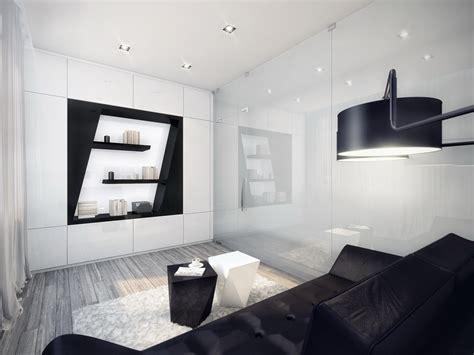 Bilder Wohnzimmer Schwarz Weiss by Black And White Contemporary Interior Design Ideas For