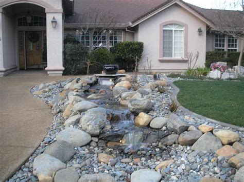 landscaping rock designs top front yard landscaping ideas with rocks jbeedesigns