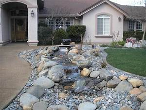 Top front yard landscaping ideas with rocks jbeedesigns for Front yard landscaping ideas with rocks