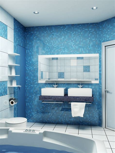 Blue Bathroom Ideas Pictures by 100 Small Bathroom Designs Ideas Hative